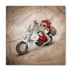 Motorcu Noel Baba Bandana Fular