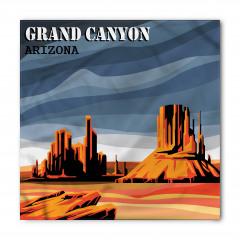 Büyük Kanyon Temalı Bandana Fular