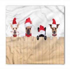 Yeni Yıl Köpekleri Bandana Fular