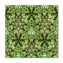 Yıldız Formlu Yeşil Bandana Fular
