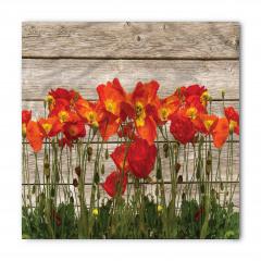 Gelincik Çiçeği ve Çit Bandana Fular