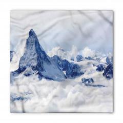 Karlı Dağ Manzaralı Bandana Fular