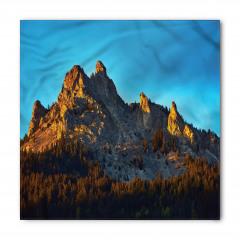 Dağ Manzaralı Bandana Fular