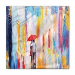 Yağmurda Yürüyen Aşık Bandana Fular