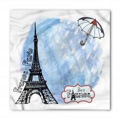 Yağmurlu Paris Bandana Fular