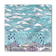 Bulutlar ve Yağmur Bandana Fular