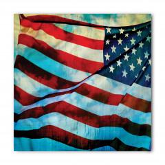 Dalgalanan ABD Bayrağı Bandana Fular