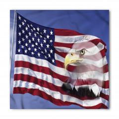 Kartal ve ABD Bayrağı Bandana Fular