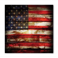 ABD Bayrağı Desenli Bandana Fular