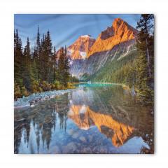 Karlı Dağlar ve Nehir Bandana Fular