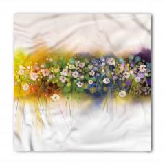 Dekoratif Çiçekler Bandana Fular