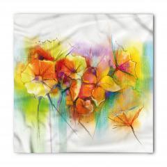 Bahar Çiçekleri Buketi Bandana Fular