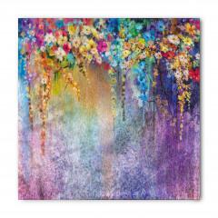 Bahar Çiçekli Desen Bandana Fular