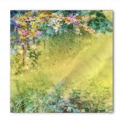 Pastel Çiçek Bahçesi Bandana Fular