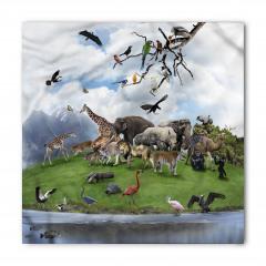 Hayvanlar Alemi ve Doğa Bandana Fular