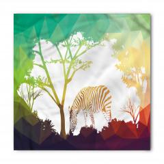 Ormandaki Zebra Temalı Bandana Fular
