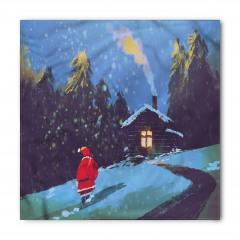Noel Baba ve Kış Gecesi Bandana Fular