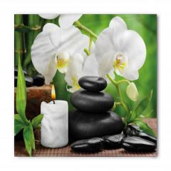 Taş Orkide ve Mum Bandana Fular