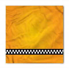 Şık Sarı Desenli Bandana Fular