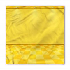 Spot Lambalı Sarı Bandana Fular
