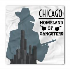 Gangster Temalı Bandana Fular