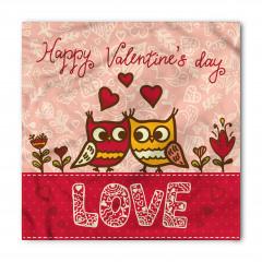 Aşık Baykuşlar Temalı Bandana Fular
