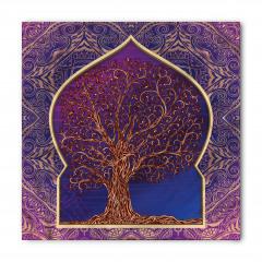 Ağaç Desenli Bandana Fular