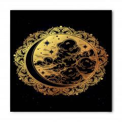 Yıldızlar Bulutlar ve Ay Bandana Fular