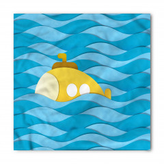Dalga Aşan Denizaltı Bandana Fular