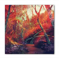 Sonbahar Ormanı Temalı Bandana Fular