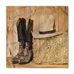 Çizme Sarı Şapka Bandana Fular
