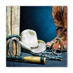 Kovboy Çizmesi ve Şapka Bandana Fular