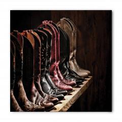 Kovboy Çizmeleri Temalı Bandana Fular