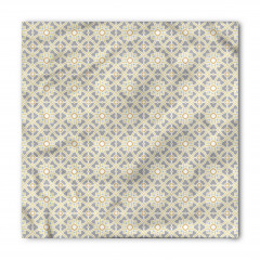 Geometrik Desenli Bandana Fular