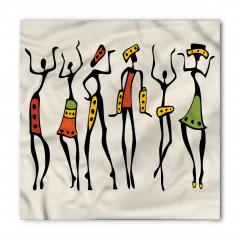 Afrikalı Dansçı Kızlar Bandana Fular