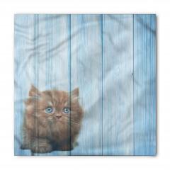 Sevimli Minik Kedi Desenli Bandana Fular