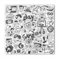 Bilgisayar Oyunu Temalı Bandana Fular