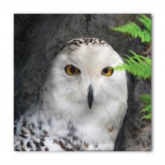 Kuş Portreli Bandana Fular