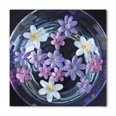 Sudaki Çiçekler Bandana Fular