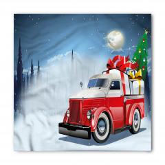 Noel Kamyonu Temalı Bandana Fular