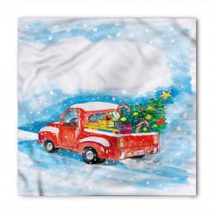 Noel Ağacı Temalı Bandana Fular
