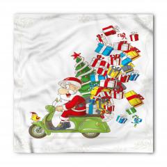 Noel Baba ve Hediye Bandana Fular