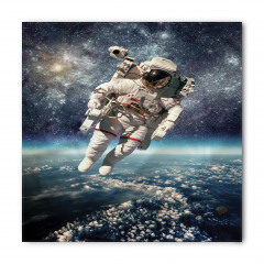 Astronot Temalı Bandana Fular