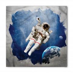 Astronot Desenli Bandana Fular