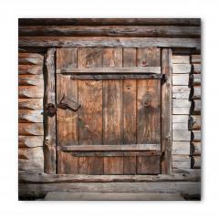 Nostaljik Kapı Desenli Bandana Fular