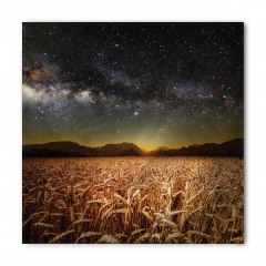 Buğday Tarlası Temalı Bandana Fular