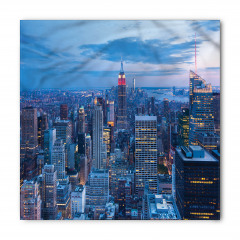 New York Manzaralı Bandana Fular