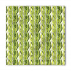 Yeşil Şeritli Bandana Fular