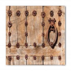 Tokmaklı Ahşap Kapı Bandana Fular