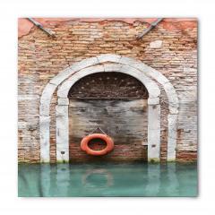 Tuğla Duvar Kemer Deniz Bandana Fular